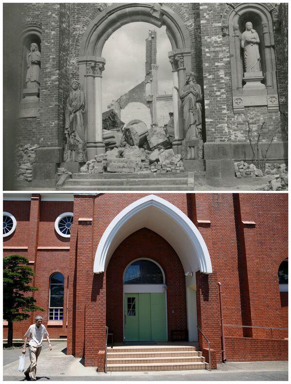 Katedra Urakami - główna świątynia archidiecezji Nagasaki w Japonii - Sputnik Polska