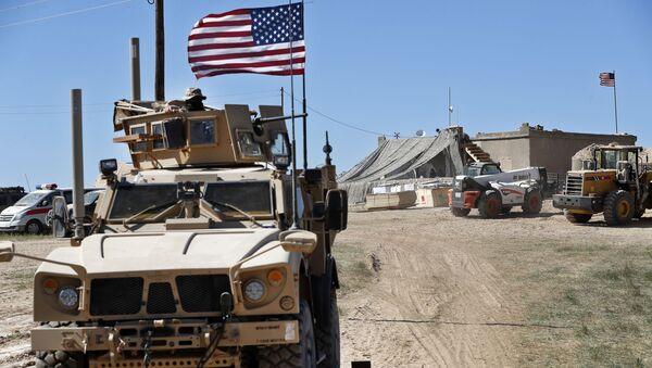 Amerykańskie wojska w Syrii - Sputnik Polska