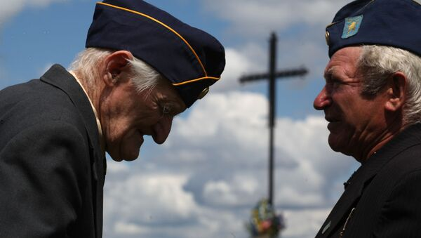 Byli żołnierze dywizji SS-Galizien - Sputnik Polska