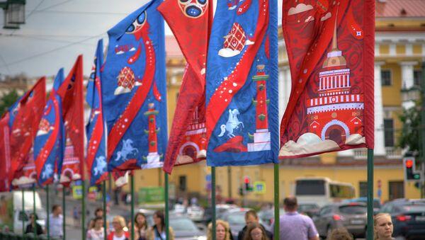Petersburg gotowy na Mistrzostwa Świata w Piłce Nożnej 2018 - Sputnik Polska