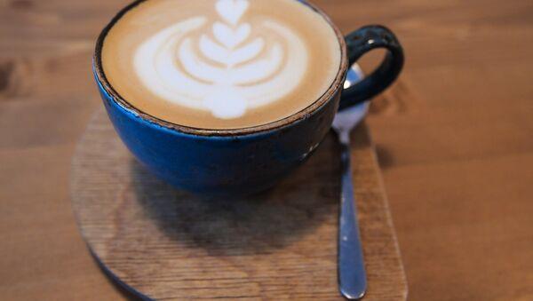 Kawa z mlekiem - Sputnik Polska