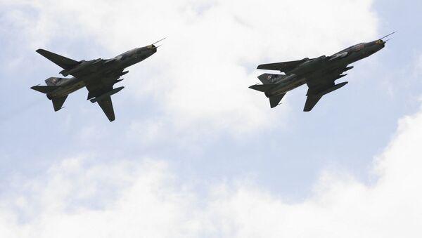 Samoloty Su-22 polskiego lotnictwa - Sputnik Polska