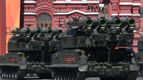 Buk-M2 na Paradzie Zwycięstwa - Sputnik Polska