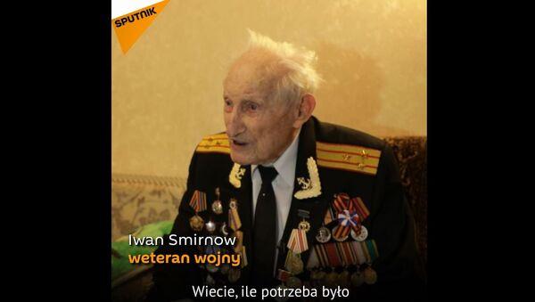 Weteran dwóch wojen - Sputnik Polska