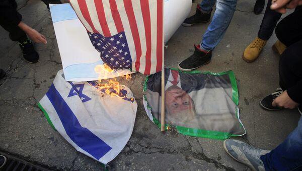 Zamieszki w Strefie Gazy, Palestyna - Sputnik Polska