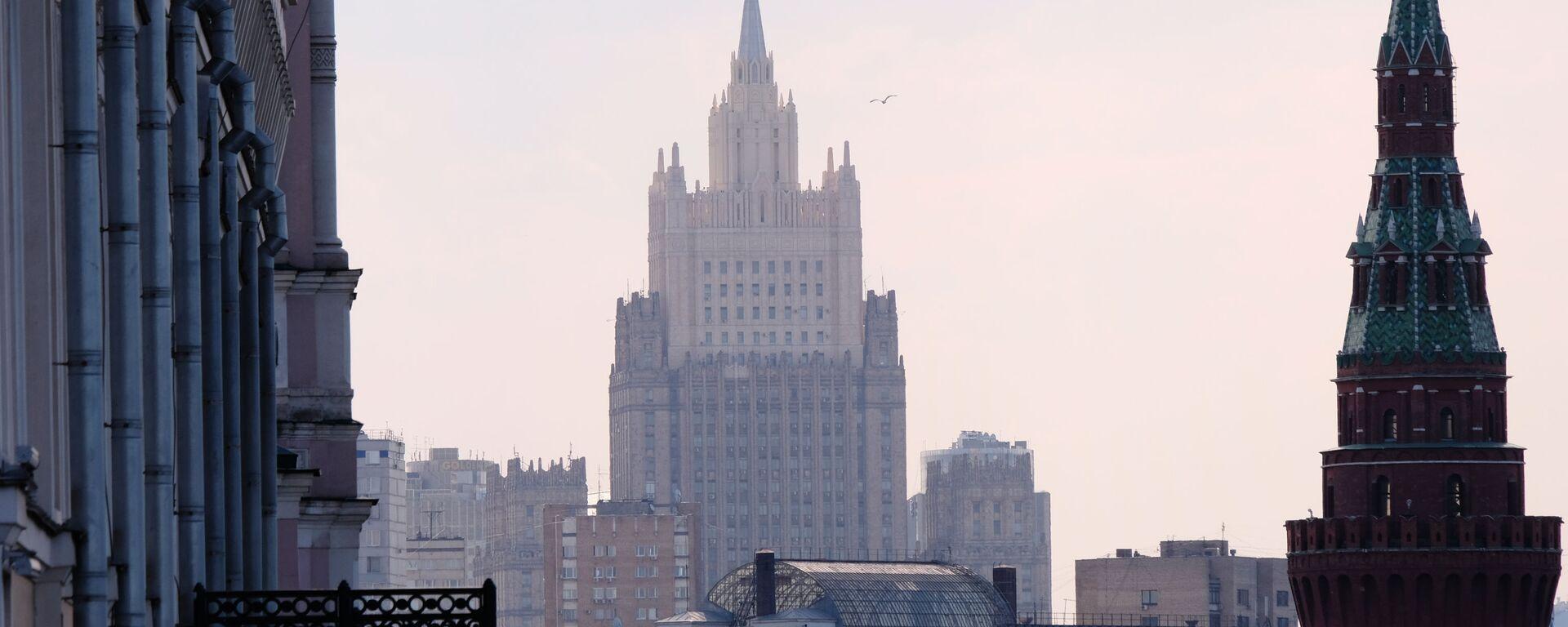 Budynek MSZ Rosji  - Sputnik Polska, 1920, 29.12.2020
