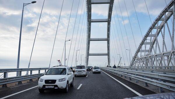Otwarcie jezdni Mostu Krymskiego - Sputnik Polska