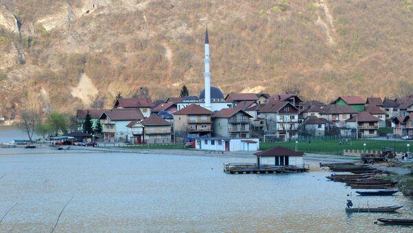 Widok na bośniacką wioskę Divic - Sputnik Polska