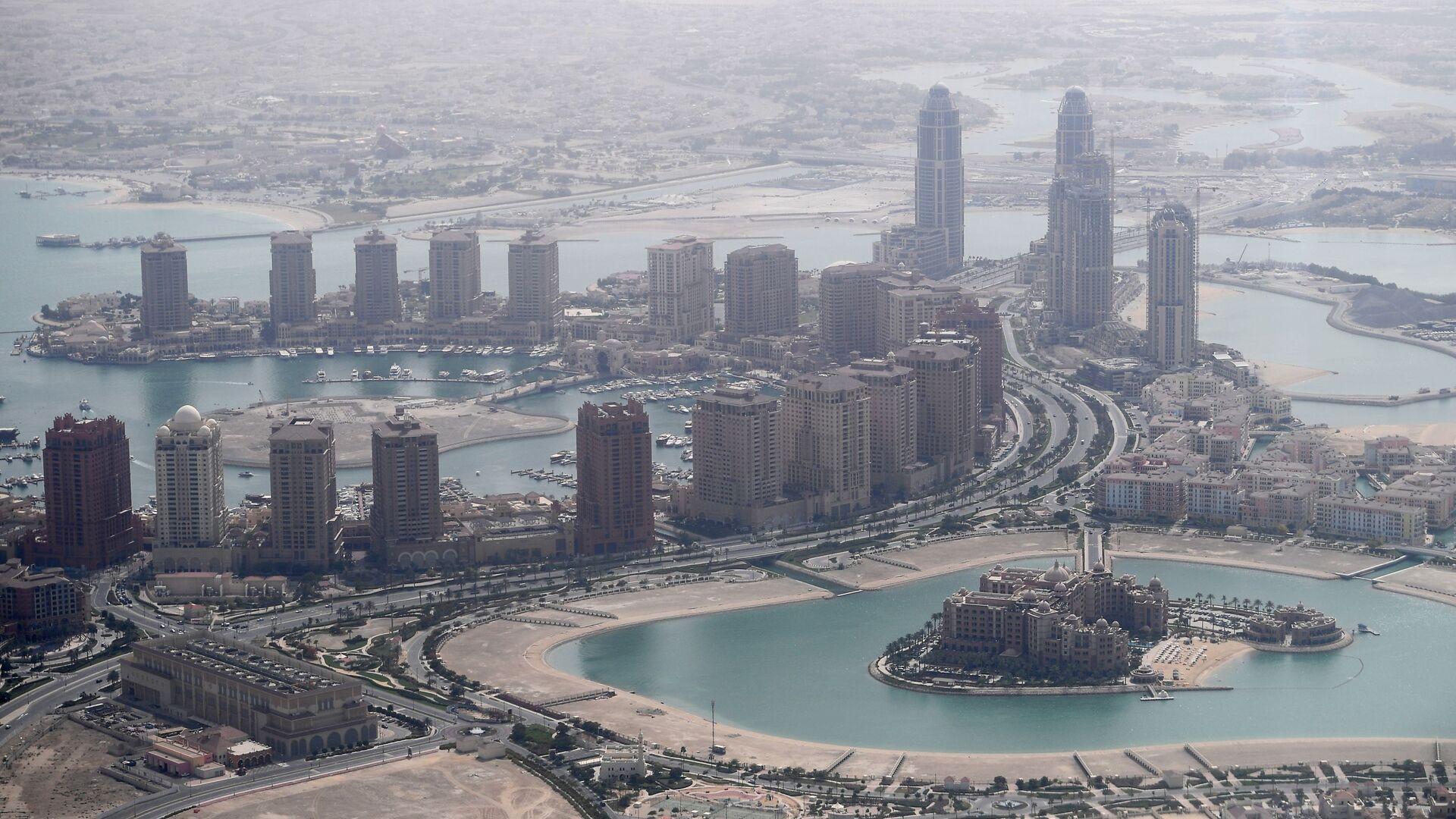 Wieżowce w Doha, Katar - Sputnik Polska, 1920, 03.10.2021
