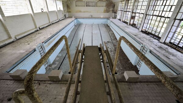 Porzucony basen - Sputnik Polska