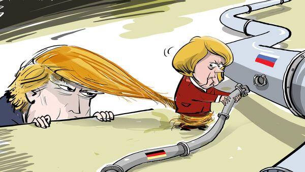 Donald nie pozwolił się bawić - Sputnik Polska