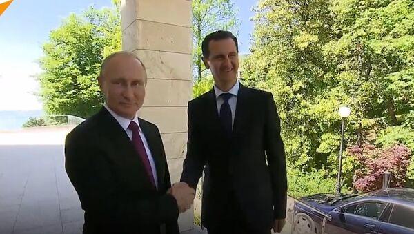 Putin i Asad - Sputnik Polska