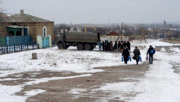 Ukraina. Zima - Sputnik Polska