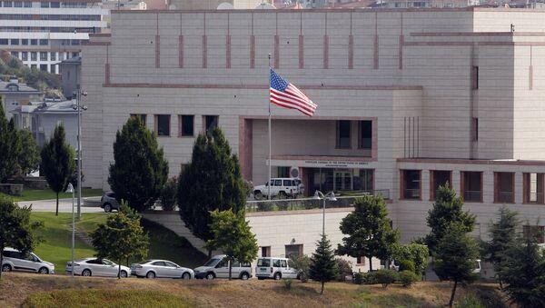 Budynek konsulatu USA w Stambule - Sputnik Polska