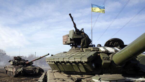 Ukraińscy wojskowi pod Gorłowką - Sputnik Polska