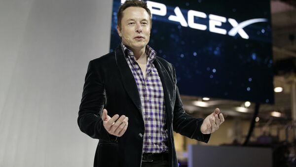 Dyrektor generalny firmy SpaceX Elon Musk - Sputnik Polska
