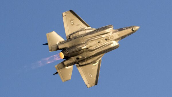 Myśliwiec F-35 Lightning II izraelskich sił powietrznych - Sputnik Polska