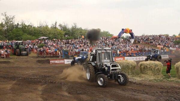 Wyścigi traktorów - Sputnik Polska