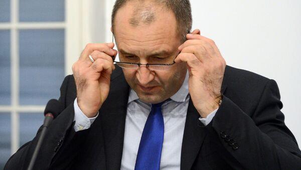 Prezydent Bułgarii Rumen Radew - Sputnik Polska