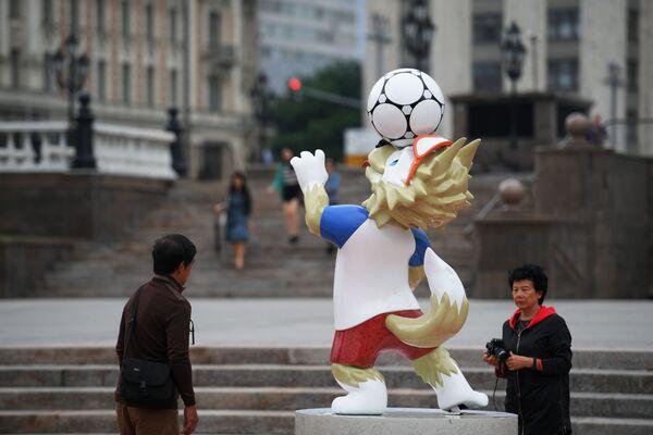 Plac Maneżowy w Moskwie gotowy na MŚ 2018 w piłce nożnej - Sputnik Polska