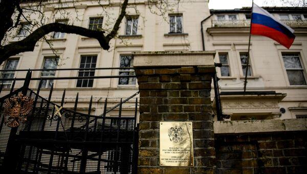 Budynek ambasady FR w Londynie - Sputnik Polska