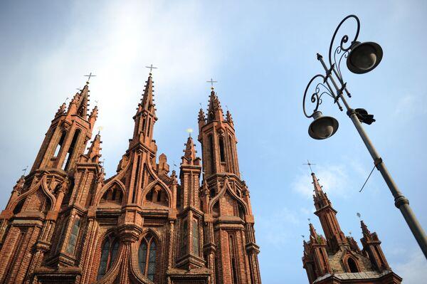 Kościół św. Anny w Wilnie - Sputnik Polska