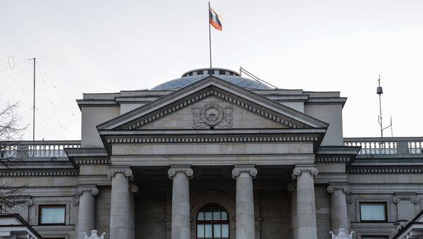 Budynek ambasady Rosji w Warszawie - Sputnik Polska