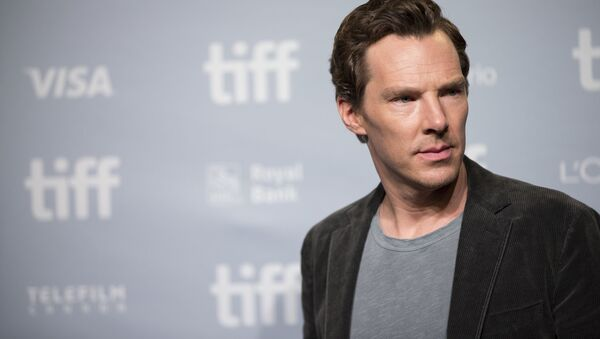 Brytyjski aktor Benedict Cumberbatch - Sputnik Polska