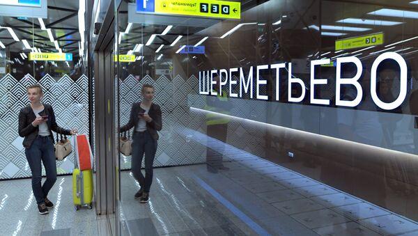 "Terminal ""B"" lotniska Szeremietiewo  - Sputnik Polska"
