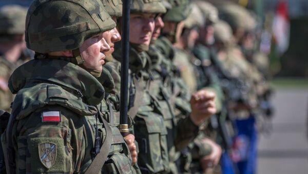 Polska batalionowa grupa bojowa NATO - Sputnik Polska