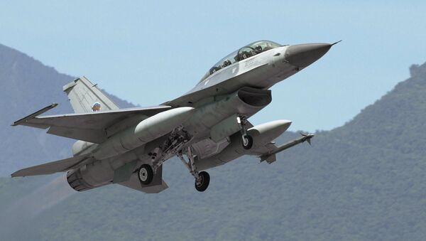 Myśliwiec F-16 Sił Powietrznych Tajwanu. Zdjęcie archiwalne - Sputnik Polska