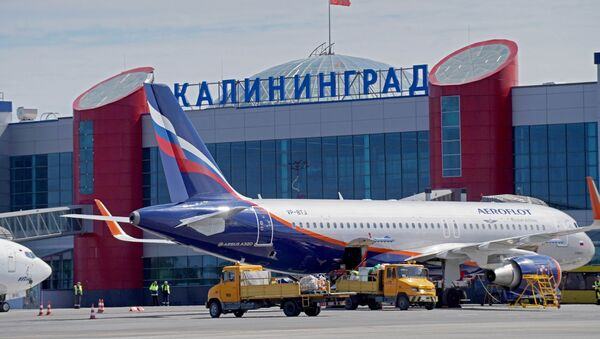 Lotnisko w Kaliningradzie - Sputnik Polska