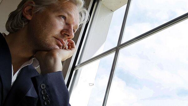 Założyciel Wikileaks  Julian Assange - Sputnik Polska