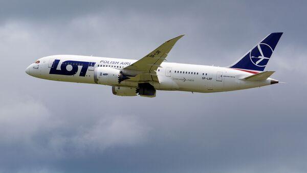 Samolot Boeing 787-8 polskich linii lotniczych LOT - Sputnik Polska
