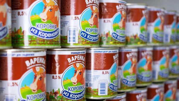 Rosyjski przysmak, gotowane mleko skondensowane - Sputnik Polska