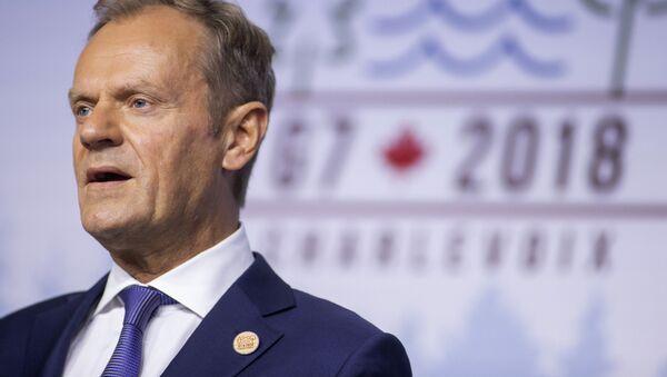 Przewodniczący Rady Europy Donald Tusk - Sputnik Polska