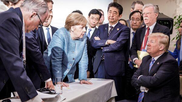 Szczyt G7 w Kanadzie - Sputnik Polska