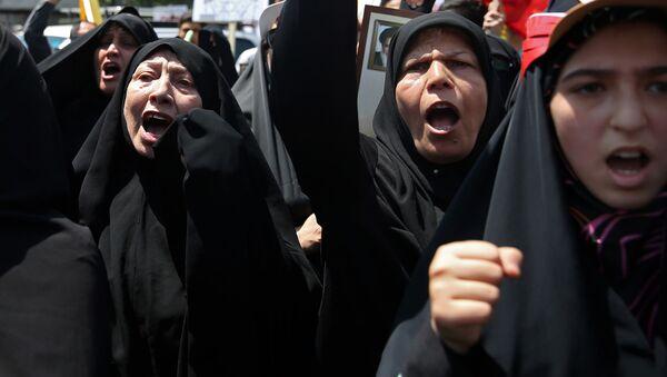 Dzien Al-Quds w Teheranie - Sputnik Polska