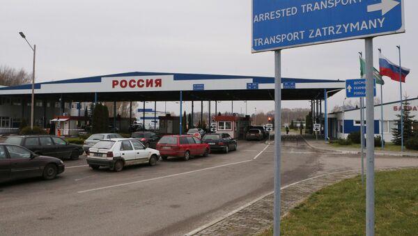 Polsko-rosyjskie przejście graniczne - Sputnik Polska