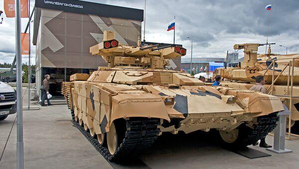 """Bojowy wóz wsparcia czołgów BMPT """"Terminator-3"""" - Sputnik Polska"""
