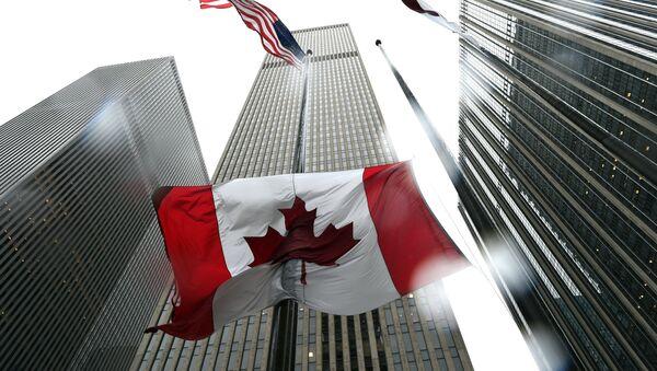 Flaga Kanady - Sputnik Polska