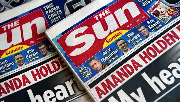 Gazeta The Sun - Sputnik Polska