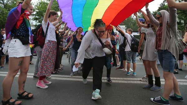 Parada równości w Kijowie - Sputnik Polska