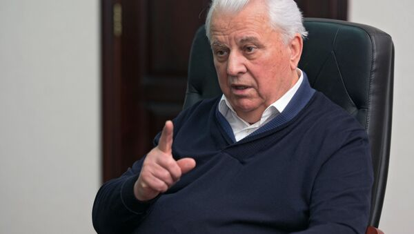 Były prezydent Ukrainy Leonid Krawczuk - Sputnik Polska