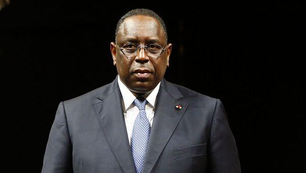 Prezydent Senegalu Macky Sall. Zdjęcie archiwalne - Sputnik Polska