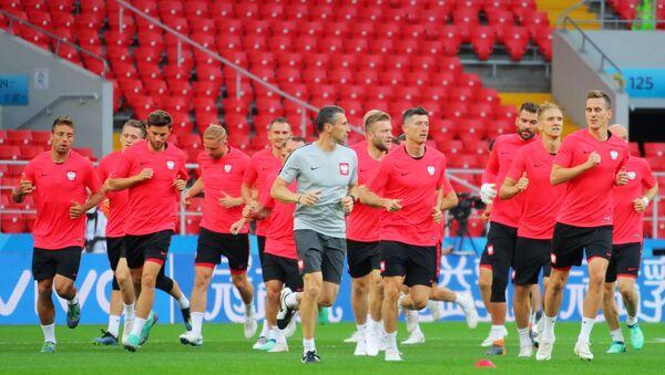 Reprezentacja Polski na treningu w Moskwie, MŚ 2018  - Sputnik Polska