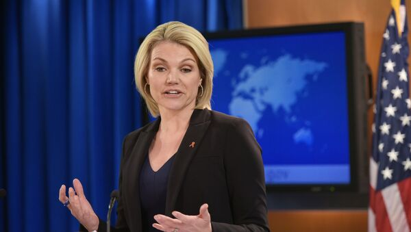 Rzeczniczka Departamentu Stanu, Heather Nauert - Sputnik Polska
