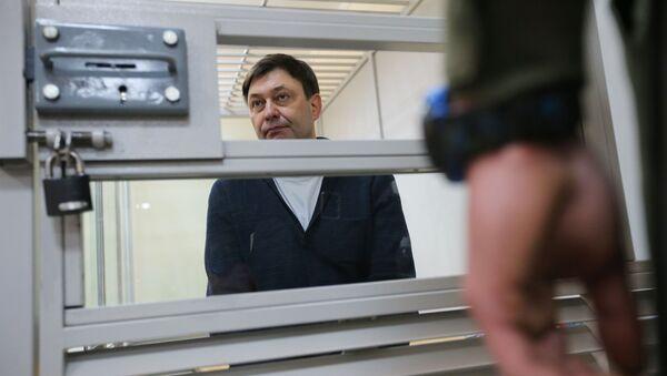 Kierownik portalu Ria Novosti Ukraina Kirił Wyszynski - Sputnik Polska