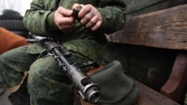 Konflikt zbrojny na południowym wschodzie Ukrainy - Sputnik Polska