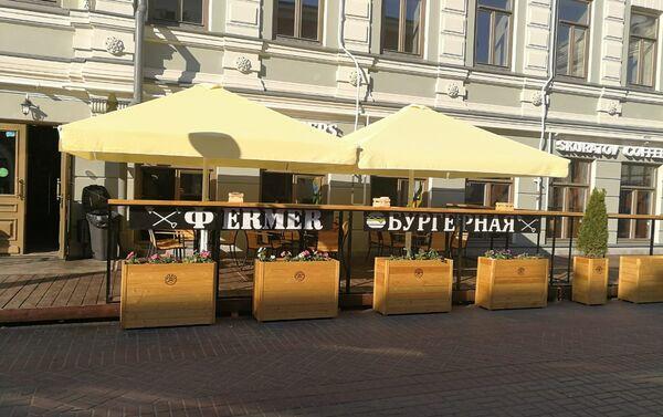 Restauracja Fermer Burgernaja w Kazaniu - Sputnik Polska
